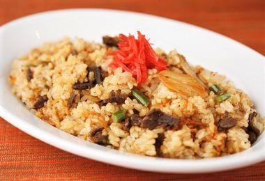 焼き肉キムチチャーハン
